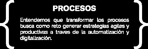 Sección procesos
